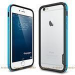 Бампер Spigen SGP для телефона Apple iPhone 6S/6 Case Neo Hybrid EX Metal Series Metal Blue (SGP11188)