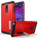 Чехол Spigen SGP для телефона Samsung Galaxy Note 4 (N910C) Case Slim Armor Electric Red (SGP11132)