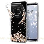 Чехол Spigen SGP для телефона Samsung Galaxy S9 Case Liquid Crystal Blossom Crystal Clear (592CS22827)